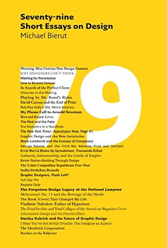 Seventy nine short essays on design kindle edition by michael seventy nine short essays on design by bierut michael fandeluxe Gallery