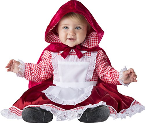 Fun World Kids' Toddler Lil' Red Riding Hood Small,