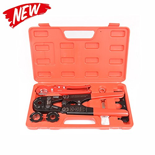 IWISS Pex Pipe Crimping Tool kit for 3/8