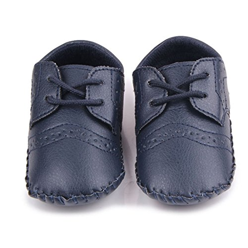 Pictures of MiYuebb Infant/Toddler Handmade Oxford Shoes Hard 6