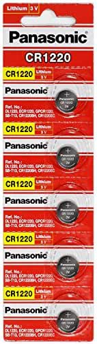 Panasonic CR1220 3 Volt Lithium Coin Battery (10 pcs)