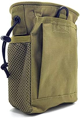 wedigout Camo Finds Pouch Metal Detector Accessory Portable Treasure Holder Waist Bag (Khaki)