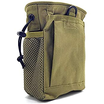 wedigout Camo Finds Pouch Metal Detector Accessory Portable Treasure Holder Waist Bag (Khaki)