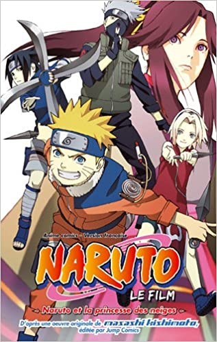 Téléchargement Naruto Shippuden - Animé Comics - Naruto et la Princesse des Neiges Vol.4 pdf ebook