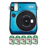 Fujifilm Instax Mini 70 Azul + 5 Películas