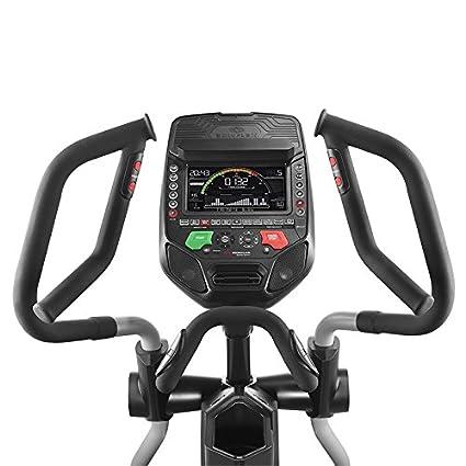 Bowflex-Bicicleta Elíptica semiprofesional BXE326- Color Negro y Gris- Fitness Apps Bluetooth 4.0-25 Niveles de resistancia-Inclinación de los ...
