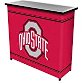 Cheap NCAA Ohio State University Two Shelf Portable Bar with Case