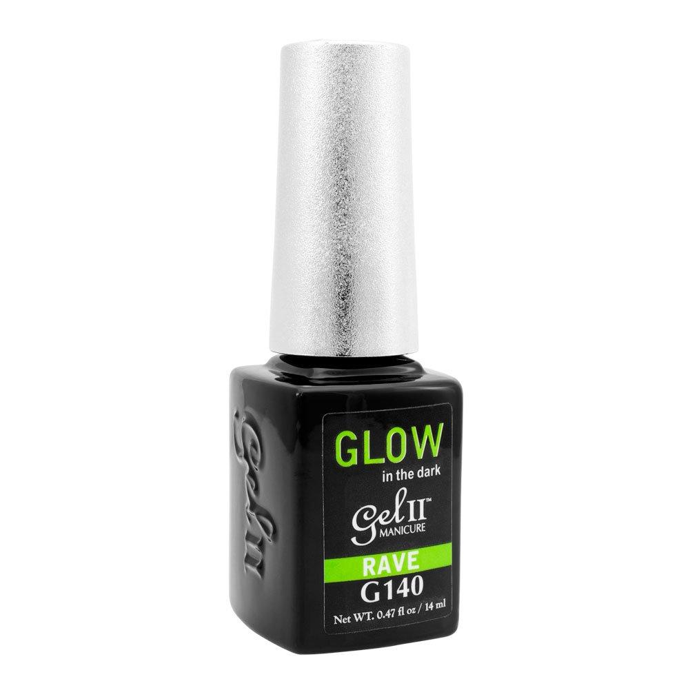 Amazon.com : GEL II La Palm Rave Nail Polish Lacquer UV Glow In The ...