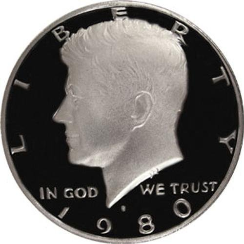 1980 S Gem Proof Kennedy Half Dollar US ()