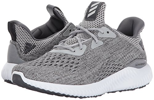 Adidas Performance Women's Alphabounce Em w Running Shoe, Grey Five/Grey Two/White, 9.5 Medium US