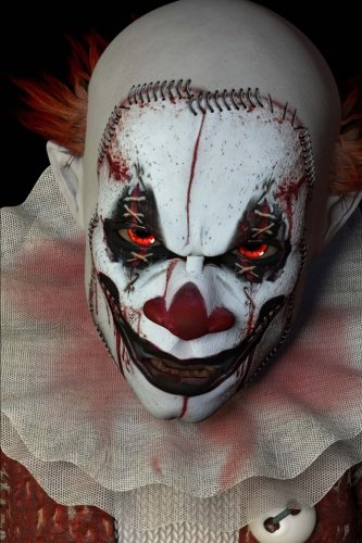 Images Of Scary Clowns (The Scary-Ass Clown Journal: 150 page lined notebook/diary)