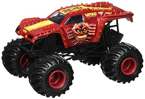 Hot Wheels Monster Jam Max-D Truck Vehicle Red 1:24 Scale (Red Monster Truck)