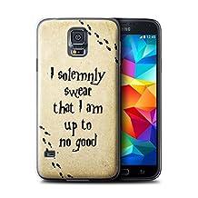 STUFF4 Phone Case / Cover for Samsung Galaxy S5 Mini / Marauders Map Design / School Of Magic Collection