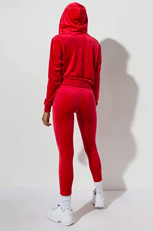 Amazon.com: FILA Estefania Emboss - Pantalones de terciopelo ...