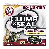 Arm & Hammer Cat Litter Clump and Seal Lightweight Multi-Cat, 4.08 kg