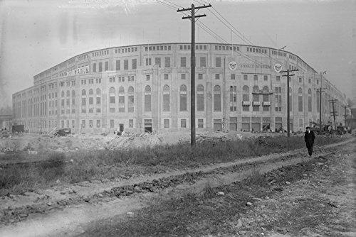 Yankee Stadium Baseball Field - Vintage Photograph