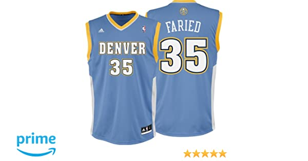 400e5 41b04  low cost amazon kenneth faried jersey adidas revolution 30  light blue replica 35 denver nuggets jersey 848271973