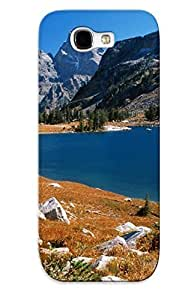Galaxy Note 2 Cover Case Design - Eco-friendly Packaging(grand Teton And Lakeolitude Wyoming)