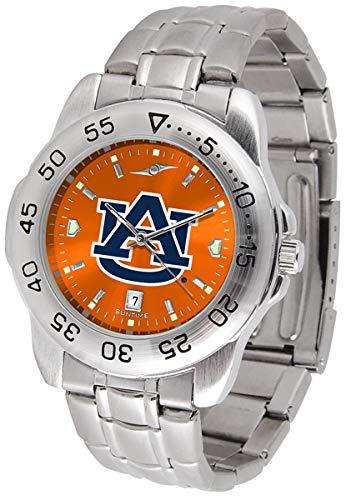 Auburn Tigers Stainless Steel Men's Sport Watch