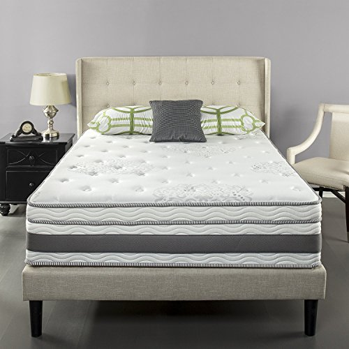 Zinus 14 Inch Gel-Infused Memory Foam Hybrid Mattress, Queen