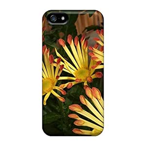 New Purecase Super Strong Yellow Chrysanthemums Tpu Case Cover For Iphone 5/5s