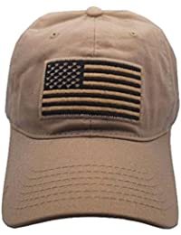 97e468c2dc5 USA American Flag Baseball Cap Military Army Operator Adjustable Hat