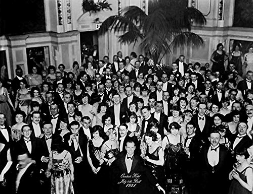 Hotel Photo - The Overlook Hotel 4th of July Ball Ballroom Photo (1980) Poster 24x36 - The Shining - This is a Certified Print with Holographic Sequential Numbering for Authenticity