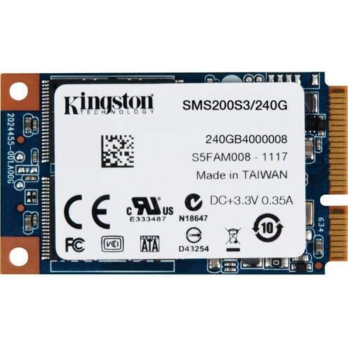 chollos oferta descuentos barato Kingston SSDNow Disco Duro sólido Interno mSATA de 240 GB 6 Gbps