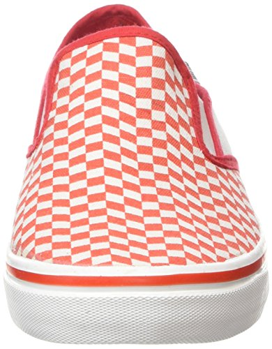 Blanco Rombos Attitude 2 MTNG Canvas Rojo Sneakers tennis U0dqdtwF