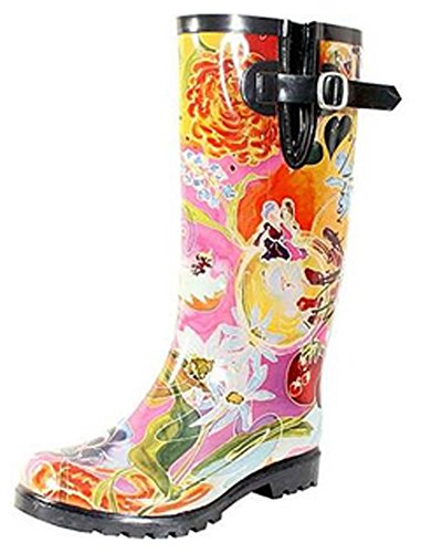 Nomad Women's Puddles III Rain Boot, I Love You Mom, 9 M ()