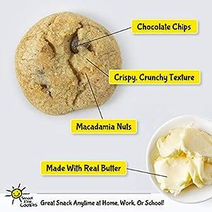 School Kine Cookies Golden Shortbread Nibbles 32 Oz Pure Hawaiian Butter Cookies Bite-sized Individual Snacks With Homemade Taste Kid And Adult by School Kine Cookies