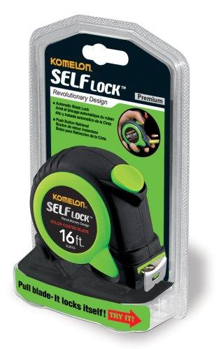 Komelon SL28116 Self Lock 16-Foot Power Tape