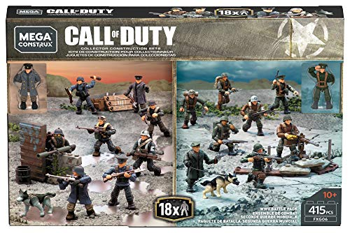 Mega Construx Call of Duty WWII Battle Pack [Amazon Exclusive] (Spartans Vs Zombies)