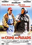 Un crime au paradis by Jacques Villeret