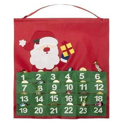 Lidl Calendario Avvento.Economico E Simpatico Calendario Dell Avvento In Tnt Con