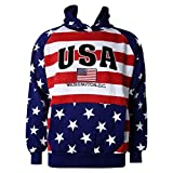 Washington DC USA American Flag Sweatshirt