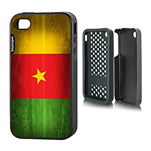 iPhone 4 & iPhone 4s Rugged Case Cameroon National Flag