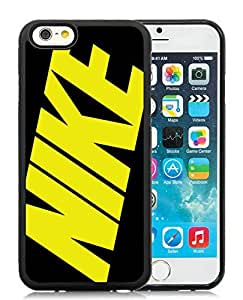 Fashion Designed Cover Case For iPhone 6 4.7 Inch TPU With Nike 24 Black Phone Case Kimberly Kurzendoerfer