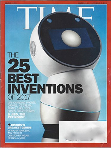 Time November 27/December 4, 2017 Jibo, The Pet Robot The 25 Best Inventions of 2017
