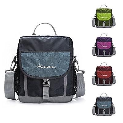 OutdoorMaster Shoulder Bag - Small & Light Crossbody Travel Purse for Men & Women