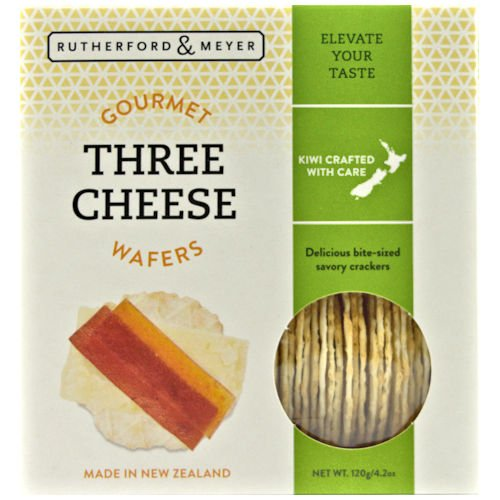 Gourmet Wafers Three Cheese (4 (Gourmet Wafers)