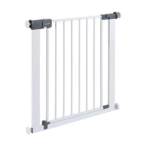 Safety 1st Quick Close ST Treppenschutzgitter extra sicheres Metall-Türschutzgitter zum Klemmen, ohne Bohren, 73 - 80 cm, bis