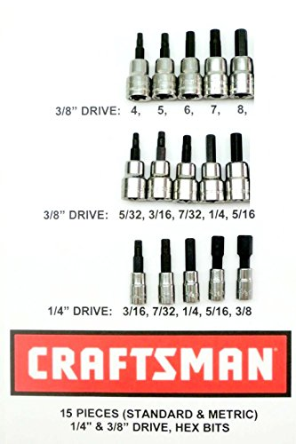 Craftsman 15 Piece 3/8