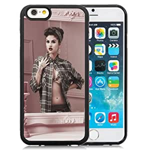 Fashion DIY Custom Designed iPhone 6 4.7 Inch TPU Phone Case For Selena Gomez In The Mirror Phone Case Cover