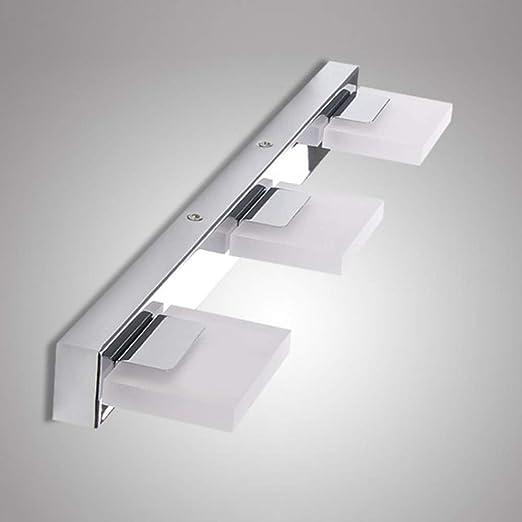 Glighone Lampe Salle De Bain Pour Miroir Led Etanche Moderne 9w