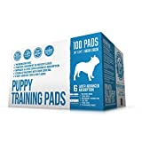 Best Iris Dog Crates - Bulldogology Premium Puppy Pee Pads with Adhesive Sticky Review