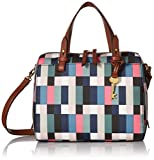 Fossil Rachel Satchel Handbag, Bright Multi
