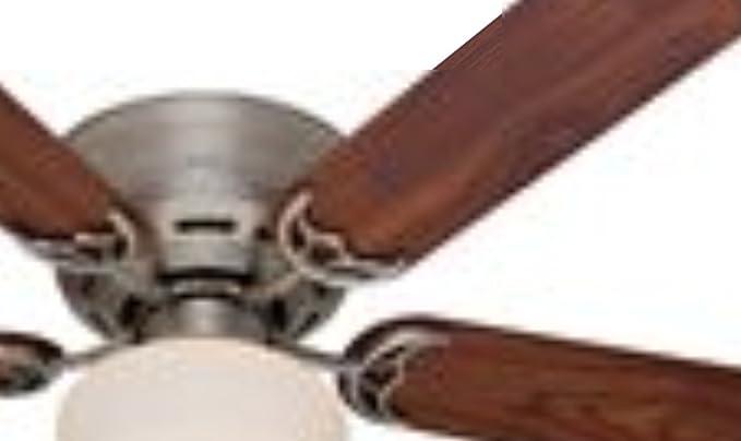 Hunter 53074 low profile iii plus 52 inch ceiling fan with five hunter 53074 low profile iii plus 52 inch ceiling fan with five walnutlight aloadofball Images
