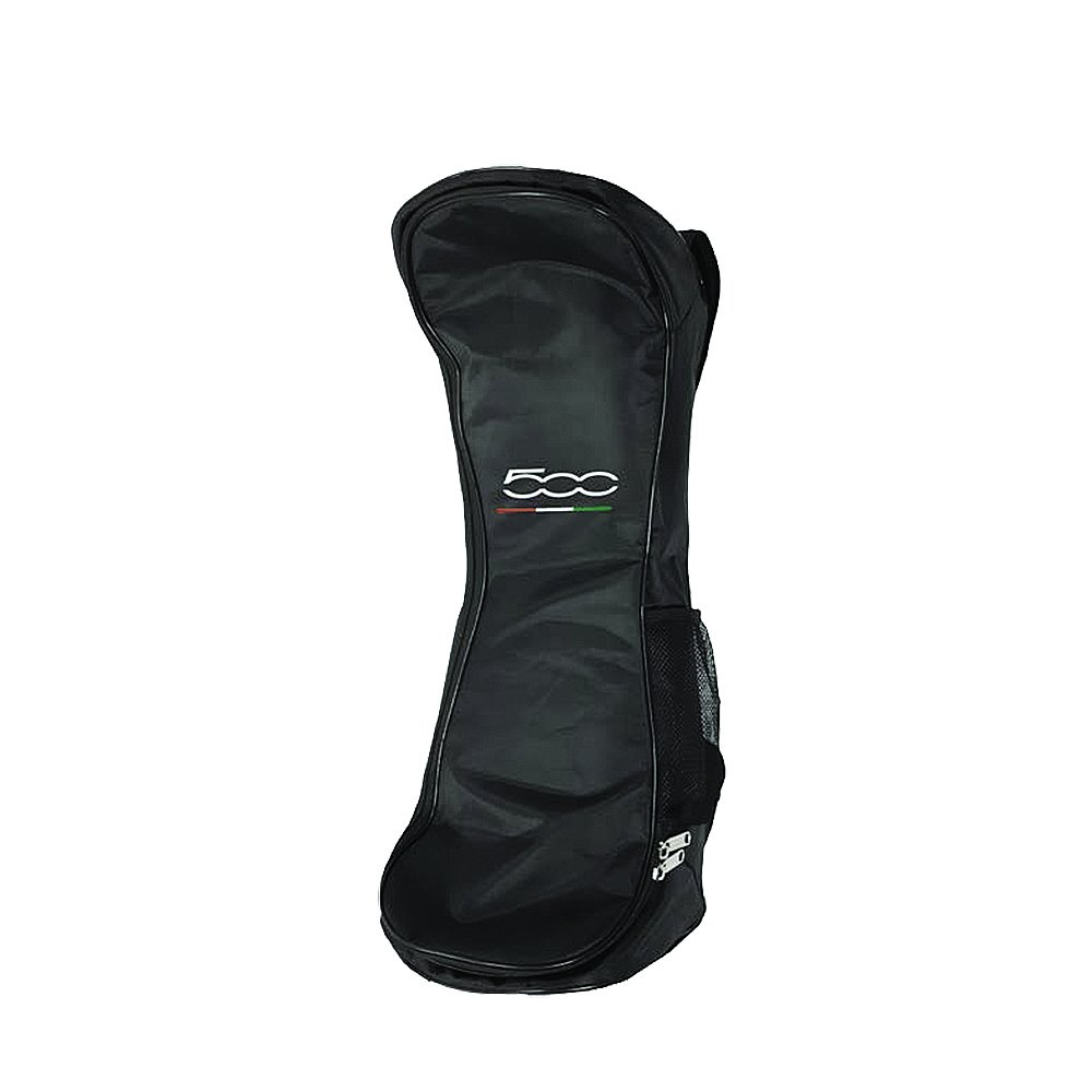 FIAT500 F500-BACKBAGW Mochila para Hoverboard, Unisex Adulto, Blanco, 4 x 28 x 71 cm