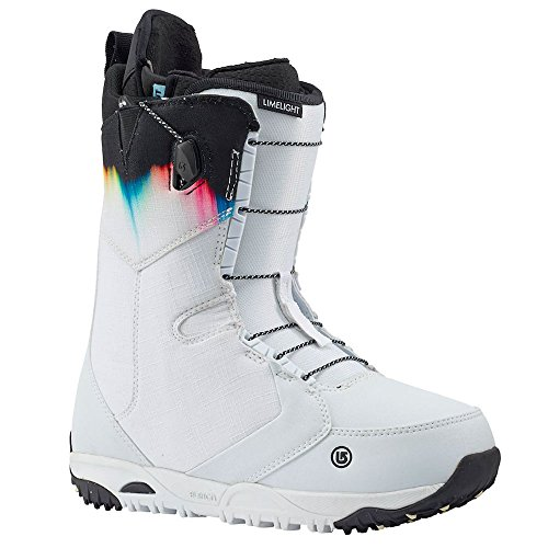 Burton Limelight Snowboard Boot - Women's White/Spectrum, (Burton Gel Boot)